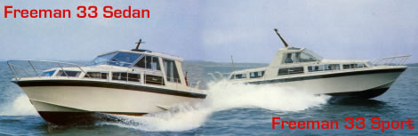 The Freeman 33 Sedan & 33 Sport