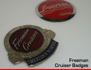 Freeman Cruiser Badges
