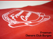 Freeman Owners Club Burgee