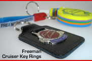 Freeman Cruiser Key Rings