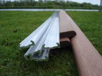 Freeman Rubbing Strake Mahogany & Aluminium