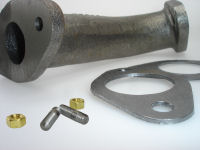 WaterMota Spare Parts - Exhaust Bend, Gasket, Studs & Nuts