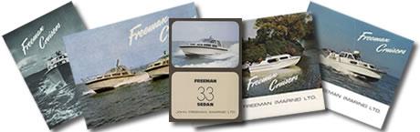 A selection of Freeman brochures