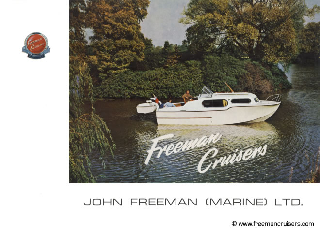The front cover of the borchure featuring the Freeman 26.