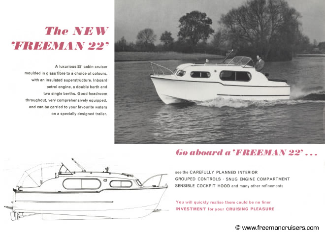 Introducing the 'new' Freeman 22, the first look at the Freeman 22 Mk2.
