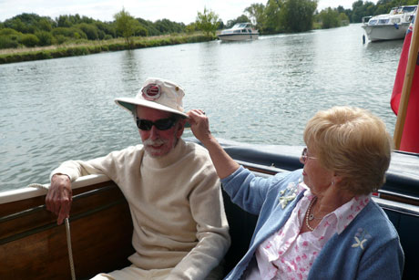 Mr & Mrs Freeman on Freeman 22 Mk2 in 2007