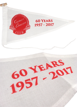 The NEW 60th Anniversary Freeman Cruiser Burgee